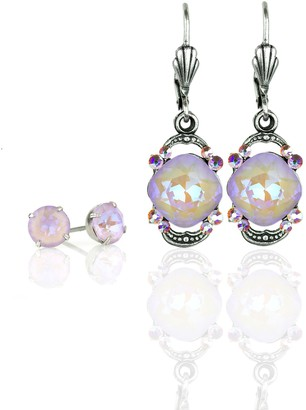 Swarovski Anne Koplik Crystal Drop Earrings andStuds Set