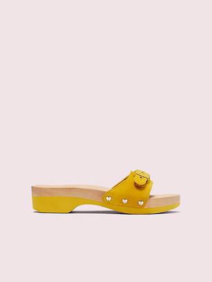 Kate Spade Dr. Scholl's X Suede Slide Sandal