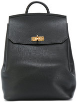Bally plain backpack