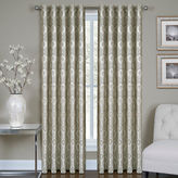 Asstd National Brand Vegas Metallic Rod-Pocket Jacquard Curtain Panel