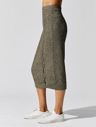 Cushnie High Waisted Knit Pencil Skirt