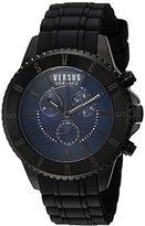 Versus By Versace Men's SGN100015 TOKYO CHRONO Analog Display Quartz Black Watch