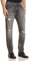 True Religion Geno Straight Fit Jeans in Drum Grey