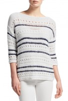 Leo & Sage Kiara Striped Sweater