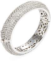 Rina Limor Fine Jewelry Women's Silver & White Topaz Bangle Bracelet