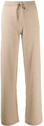 Chinti and Parker Flared Knit Trousers