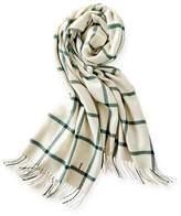 Blanket Scarf, Windowpane