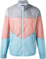 Diesel colourblock high neck jacket
