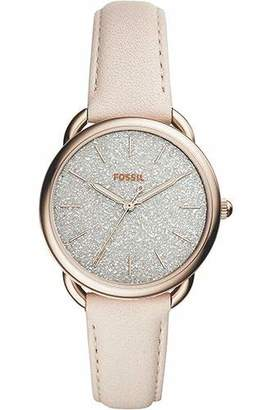 Fossil Women's Tailor Stainless Steel Quartz Leather Strap