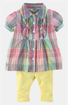Ralph Lauren Madras Plaid Tunic & Leggings (Baby)