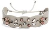 Rebecca Minkoff Women's Jeweled Guitar Strap Bracelet