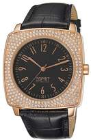 Esprit Women's Quartz Watch tychess rosegold EL101312F04 with Leather Strap