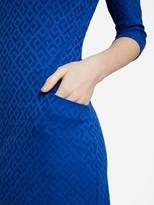 J.Mclaughlin Catalyst Dress in Diamond Geo Jacquard