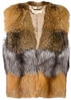MICHAEL Michael Kors fox fur gilet