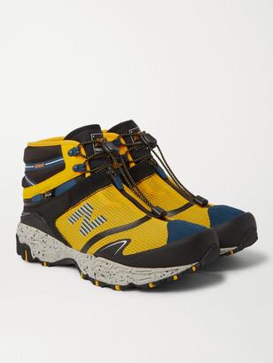 New Balance + Snow Peak Tokyo Design Studio Nobium Suede And Rubber-Trimmed Mesh 3-In-1 Boots