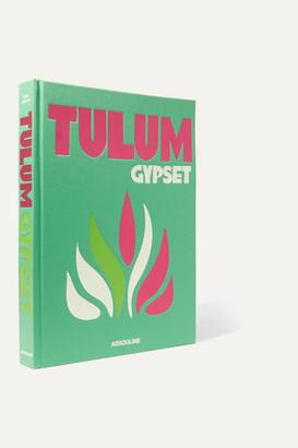 Assouline Tulum Gypset By Julia Chaplin Hardcover Book - Green