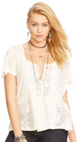 Denim & Supply Ralph Lauren Lace Boho Shirt