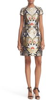 Ted Baker Women's Imoen Opulent Orient Jacquard Fit & Flare Dress