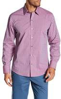 Zachary Prell Regular Fit Plaid Dress Shirt