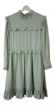 Christian Dior Green Viscose Dresses