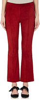 The Row Women's Athby Suede Crop Pants