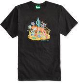 Lrg Men's Peyote Coyote Graphic-Print Cotton T-Shirt