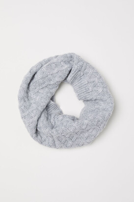H&M Textured-knit tube scarf