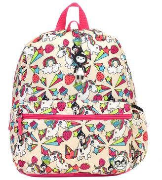 "Babymel Zip & Zoe Junior 15"" Kid' Backpack - Unicorn"