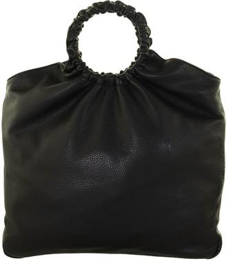 Fabiana Filippi Black Leather Bag