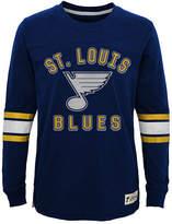Outerstuff St. Louis Blues Historical Long Sleeve T-Shirt, Big Boys (8-20)