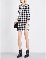 Maje Rimia knitted cotton-blend dress