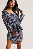 Forever 21 Striped Shirt Dress