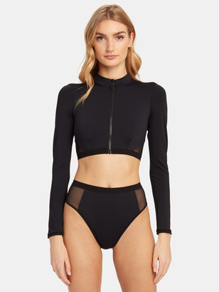 Stella McCartney Sporty Mesh Short Rashguard