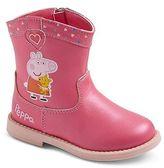 Peppa Pig Toddler Girls' Cowboy Boots - Pink