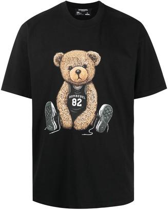 Dom Rebel Graphic-Print Short-Sleeved T-Shirt
