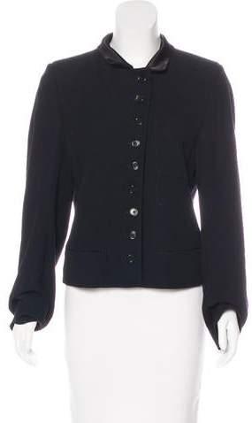 Ann Demeulemeester Structured Button-Up Jacket