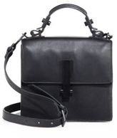 KENDALL + KYLIE Minato Mini Leather Top-Handle Satchel