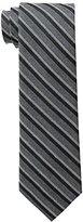 Calvin Klein Men's HC Flannel Satin Stripe Tie