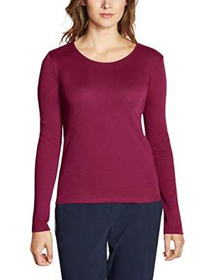 Cecil Women's 314022 Pia Long Sleeve Top, (Deep Blue 10128), Large