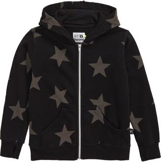 Nununu Star Zip Hooded Sweatshirt