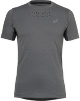 Asics - Stride Jersey And Mesh T-shirt