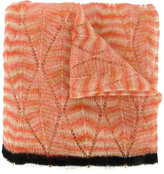 Missoni striped knitted scarf - women - Nylon/Mohair/Alpaca - One Size