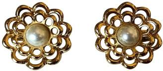 Guy Laroche Gold Metal Earrings