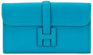 Hermes 2018 pre-owned Jige Duo H clutch bag