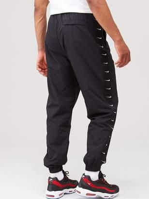 Nike Sportswear Swoosh Woven Joggers -Black