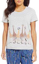 Sleep Sense Giraffe Crowd Sleep Top