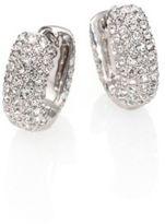 Adriana Orsini Pave Crystal Huggie Hoop Earrings/0.5