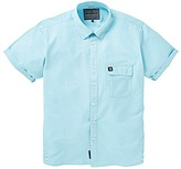 Voi Jeans Remy Cotton Oxford Short Sleeve Shirt Long