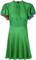 Just Cavalli flared dress - women - Silk/Polyester/Viscose - 38