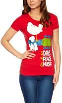 Logoshirt Vintage Rock - Woodstock Logo Women's T-Shirt